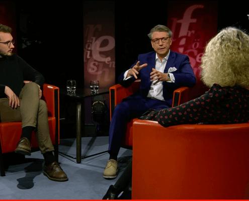 Felix Arnet bei Susanne Fröhlich